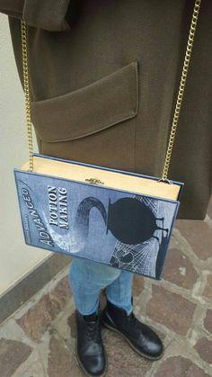 Harry Potter BOOK CLUTCH Shoulder bag Advanced di LibriNonLibri