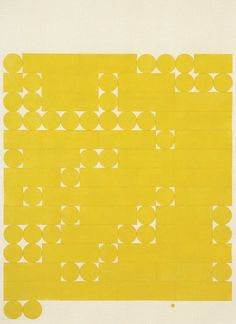 Sketchbook – NickeyKehoe Textures Patterns, Print Patterns, Tauba Auerbach, Mellow Yellow, Bright Yellow, Letterpress, Art Lessons, Alphabet, Typography