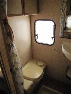 Metamorfose Camper Toilet Voor