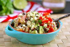 Black Bean, Quinoa & Citrus Salad - except for the grapefruit, this sounds delicious.