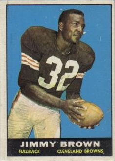 1961 Topps #71 Jim Brown Front