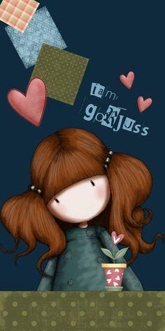 gorjuss Girl Cartoon, Cute Cartoon, Cute Girls, Little Girls, Santoro London, Cute Images, Cute Illustration, Happy Planner, Cute Drawings