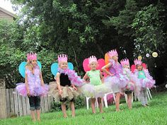 Fairy princess party, little girl birthday party