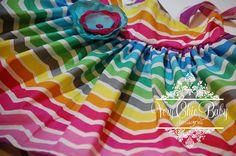 Custom Inspired by Rainbow Brite Chevron Twirly by VeryChicBaby, $42.00
