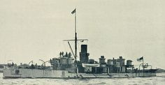 "HMS Polyphemous was the inspiration for HMS Spiteful in ""Steam and Stratagem"""