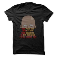 One Punch Man Training Secret T-Shirt Hoodie Sweatshirts uee. Check price ==► http://graphictshirts.xyz/?p=41473
