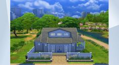 Check out this lot in The Sims 4 Gallery! Sims 4 Houses, Sims 4 Game, My Sims, Sunroom, Building A House, Traditional, Mansions, House Styles, Gallery