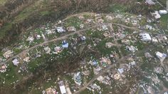The island of Puerto Rico, residents witnessed and felt it suffers for 30 days in the aftermath of Hurricane Maria. President Trump came once with some supplies, but it wasn't enough. All buildings, furniture, and landscapes are out of shapes and damaged. Residents have nothing, but hope and someone's help (Sang Bin L).