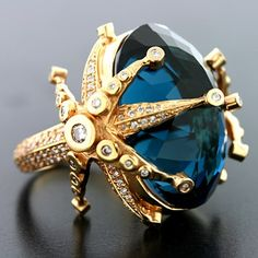Regal ring by Colette Steckel. #rings #jewelry