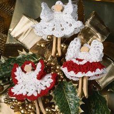 Leisure Arts - Christmas Cherubs Thread Crochet Patterns ePattern, $2.99 (http://www.leisurearts.com/products/christmas-cherubs-thread-crochet-patterns-digital-download.html)
