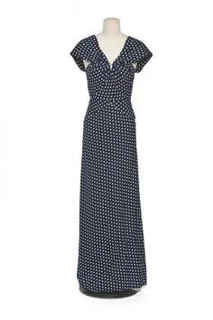 Vionnet dotted cotton dress 1930-35
