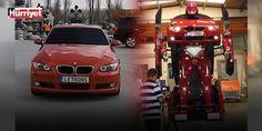 Türk mühendislerin ürettiği robot dış basında da ses getirdi!: BMW marka otomobili Transformersa çeviren Türk mühendisler dış basında da yankı uyandırdı.
