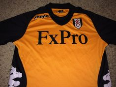 Sale Vintage Kappa FULHAM FC Soccer Jersey England by casualisme