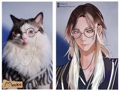 Handsome Anime Guys, Cute Anime Guys, Anime Version, Anime Animals, Human Art, Fanarts Anime, Boy Art, Art Reference Poses, Character Design Inspiration