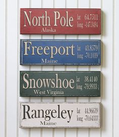 places i've lived signs