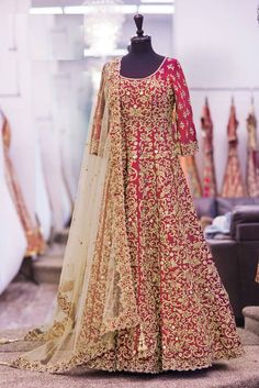 Designer Anarkali Salwar Kameez at Mirraw.