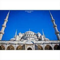 Sultan Ahmet Camii ( Blue Mosque ) - İstanbul / Turkey  #sultanahmet #sultanahmetcamii #bluemosque #istanbul #turkey #türkiye #fatih #islam #islamic #architecture #history #art #travel #travelphotography #europe #asia #mosque #cami #beauty #beautifuldestination #igersistanbul #ig_turkey #igtravel #dome #arch #tb  #photooftheday #instadaily #instagood #igers