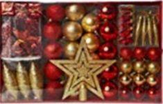 30x 7 cm Plastique Clair Boules Craft Baubles-Noël Baubles