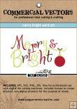 Christmas/Winter : Peppermint Creative, Digital Scrapbook Supplies