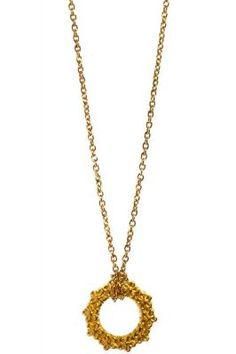 Halskette Flower Circle gold