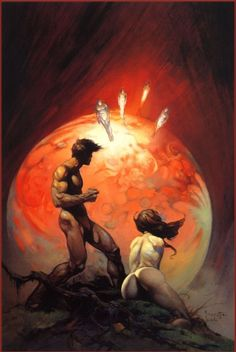Frank Frazetta Invaders