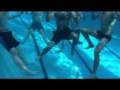 Tread Drill: scissor, breast, egg-beater kick - YouTube