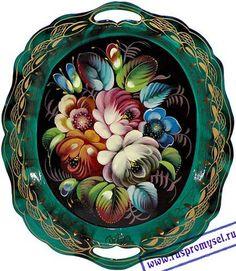 zhostovo, russian folk art since XVIII