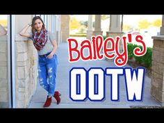 Bailey's Outfits of the Week (OOTW) | Fall Style Lookbook | Brooklyn and Bailey - YouTube