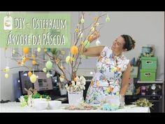 DIY | Osterbaum - Árvore de Páscoa da Familinha - YouTube