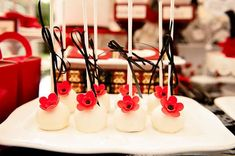 1920's Poppy High Tea Baby Shower Party Ideas | Photo 7 of 37 | Catch My Party