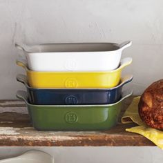"Emile Henry Modern Classics Rectangular Baker, 11"" x 8"", available at #surlatable"