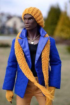 fuckyeahdollsofcolor: Darius by Margarita A on Flickr.[Fashion Royalty 'Darius' by Integrity Toys.