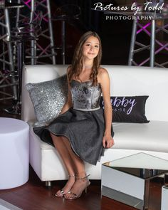 Is your daughter a star? Treat her like one with a bat mitzvah all her friends will never forget! Check out World Cafe Live for your next event! Girls Short Dresses, Dresses For Tweens, Formal Dresses, Bat Mitzvah Dresses, Live Picture, Live For Yourself, Girl Fashion, Cute Outfits, Daughter
