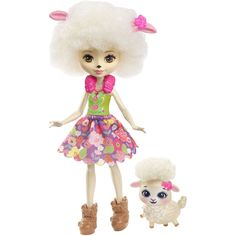 Monster High, Lol Dolls, Cute Dolls, Barbie Dolls, Sheep Ears, Mattel Shop, Pink Sheep, Colourful Outfits, Barbie Clothes