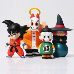 DBZ Goku Master Roshi Chaozu Fortuneteller Baba Set 4pcs PVC Figure Toys  #DBZ #Goku #Master #Roshi #Chaozu #Fortuneteller #Baba #Set #4pcs #PVC #Figure #Toys #Kidolstuff