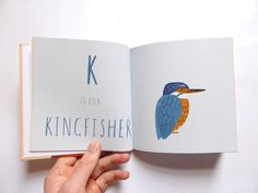 Animal AZ Book by HardwickIllustration on Etsy
