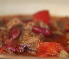 Recipe Chilli con carne by IreVo, learn to make this recipe easily in your kitchen machine and discover other Thermomix recipes in Hlavní jídla - maso. Kitchen Machine, Beef, Food, Thermomix, Meat, Meals, Ox, Yemek, Eten