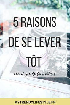 5 raisons de se lever tôt