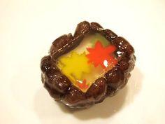 上生菓子【錦秋】 - 大和市 福田 桜の名所 千本桜 和菓子 みどりや