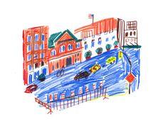 Joanne Liu Sketchbook Ideas, Art Classroom, Sketchbooks, Artsy Fartsy, Illustrators, Artworks, Buildings, Illustration Art, Contemporary