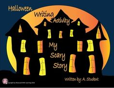 Halloween Writing Activity: My Scary Story is a fun and guaranteed way to activate your students writing passion. Nothing seems to spark their imagination better than a haunted house infested with wicked spirits. After your students watch my FREE Literary Elements of a Ghost Story PowerPoint Show, keep your students attention lit by providing them with these simple and entertaining components of this Writing Activity.