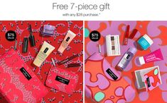 Best-Loved Classics or Pep-Start? Your choice - free with any $28 Clinique purchase at Clinique US website now. FREE shipping.