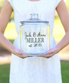 Another great find on #zulily! Personalized Cookie Jar #zulilyfinds