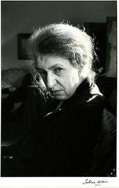 Sabine Weiss, portrait de Clara Haskil
