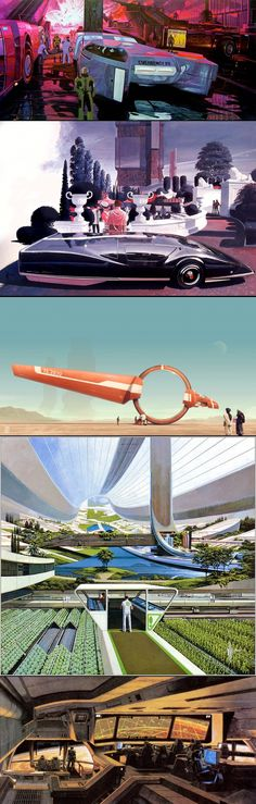 Retro Futurism by Syd Mead