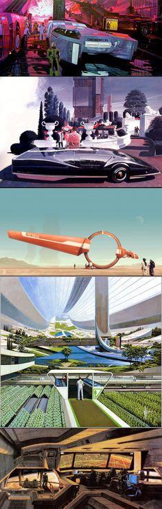 Retro Futurism by Syd Mead