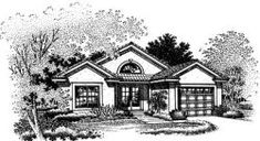 1042 Sq ft - 2 bed 2 bath MonsterHousePlans - 15-510