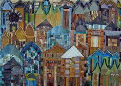 Dream City mosaic by Sherri King