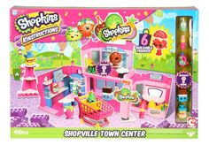 Shopkins Kinstructions Deluxe Shopville Town Center | Moose Toys