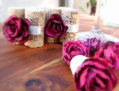 Wedding Table Setting Escort Card Holders by KarasVineyardWedding, $30.00